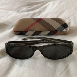 Burberry Vintage Plaid Sunglasses